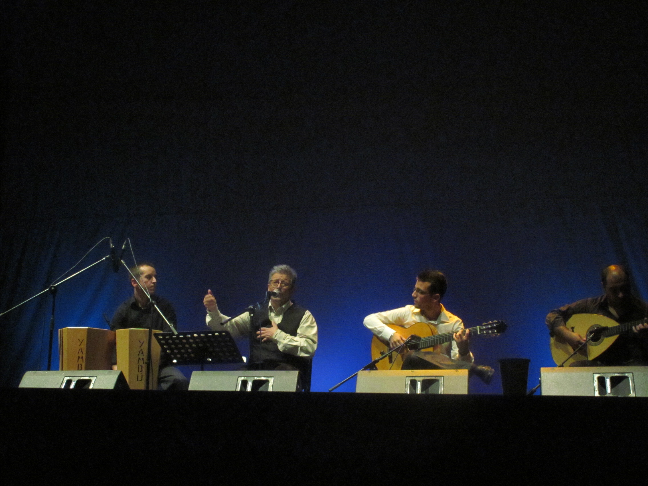 Los poemas de Antonio Machado son melodías flamencas con las composiciones de Fernando Barros, Jesús Ballesteros, Jonathan Morillas y Sergio Única