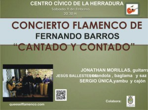 El flamenco cantado y contado