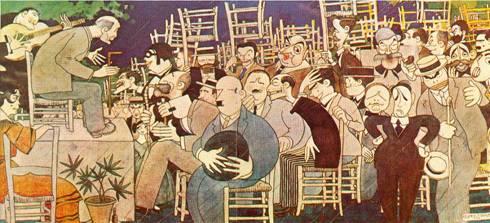El flamenco del siglo XXI- Concurso de cante jondo 1922