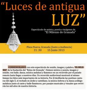 Concierto que conmemora el milenio del Reino de Granada