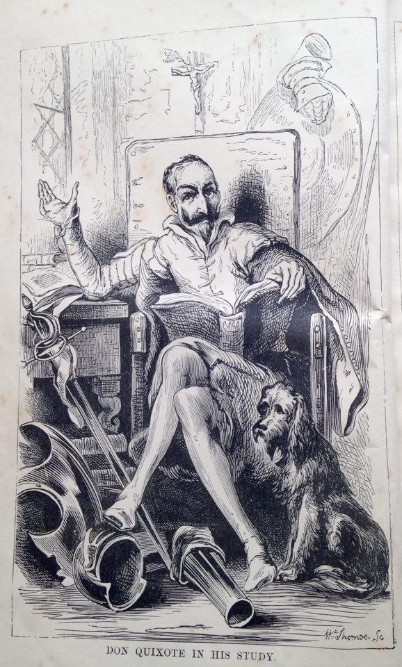 D. Quixote in inglis
